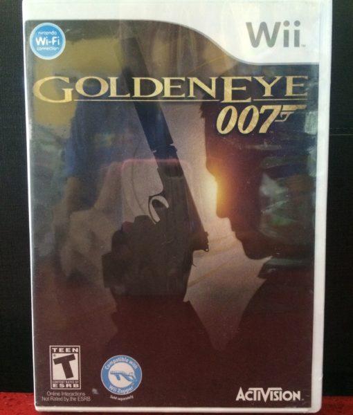 Wii 007 GoldenEye Reloaded game