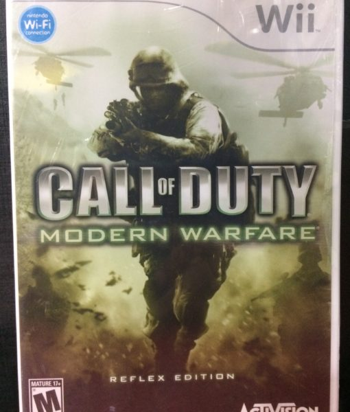 Wii Call of Duty Modern Warfare Reflex game