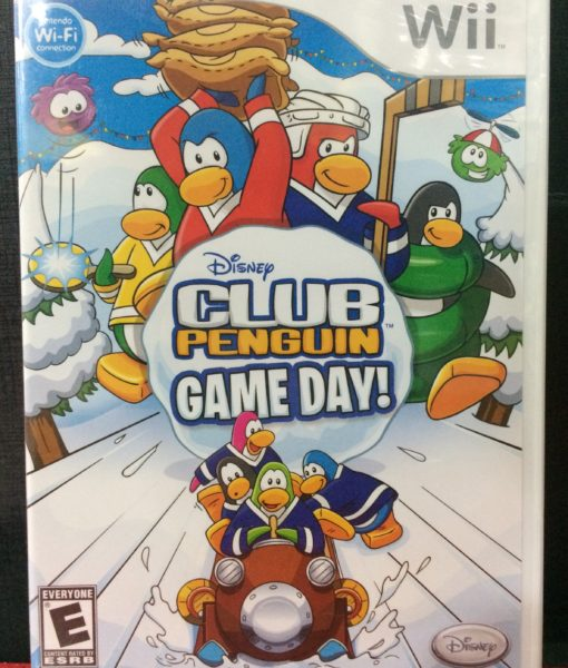 Wii Club Penguin Game Day game