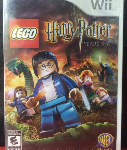 Wii Lego Harry Potter 5-7 game