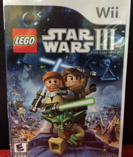 Wii Lego Star Wars III Clone Wars game