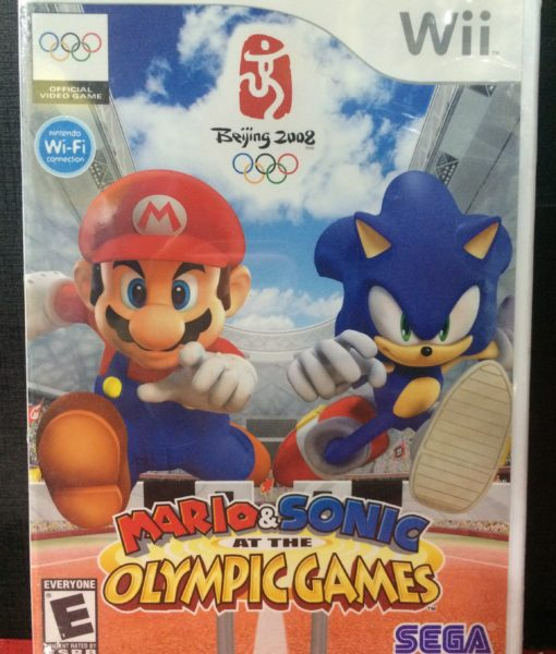 Wii Mario Sonic Olympic game