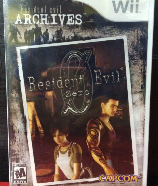 Wii Resident Evil Archives ResidentEvil Zero game