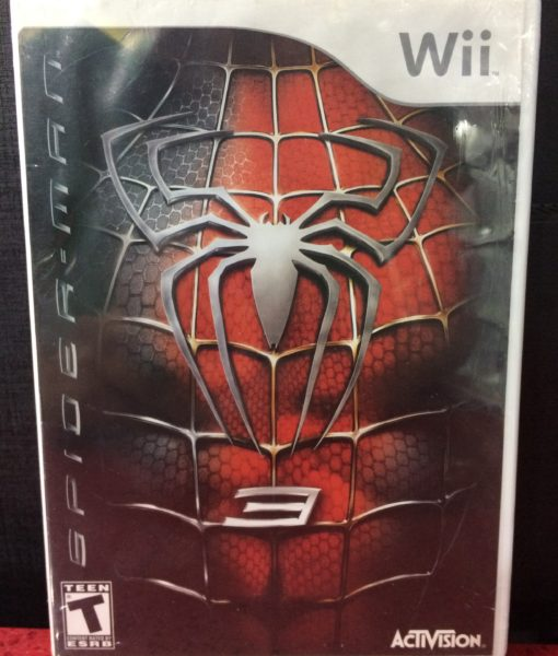 Wii Spiderman 3 game