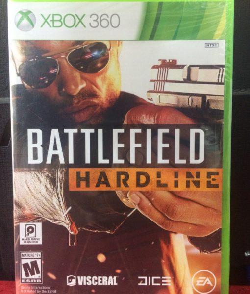360 BattleField Hardline Standar game