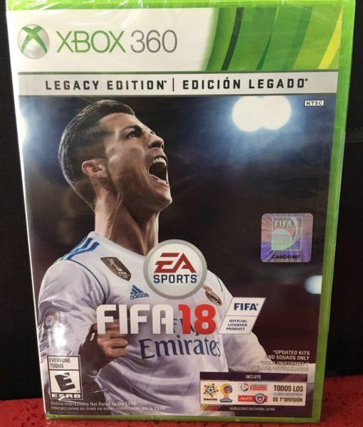 360 FIFA 18 game