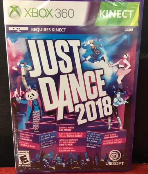 360 Just Dance 2018 game