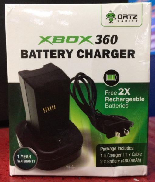 360 item battery Charger Cargador 2 baterias ORTZ