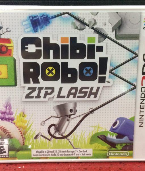 3DS Chibi-Robo Zip Lash game