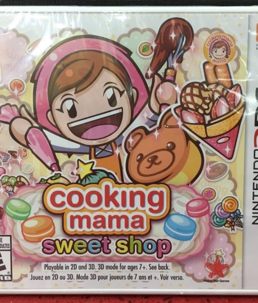 3DS Cooking Mama Sweet Shop game