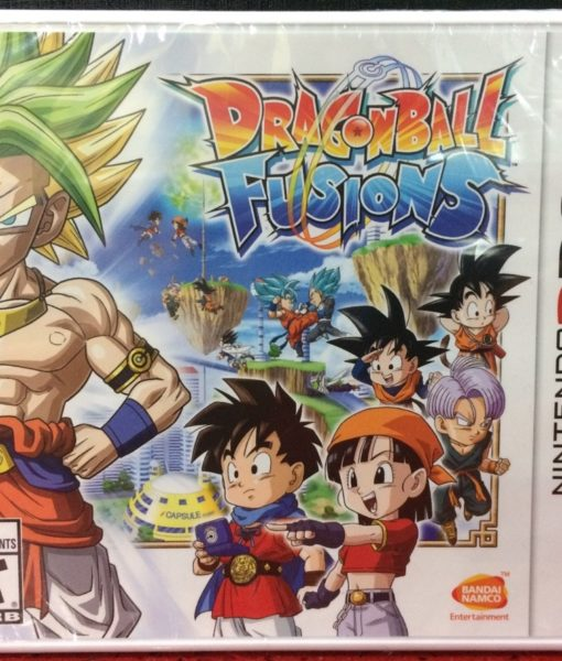 3DS Dragon Ball Fusions game