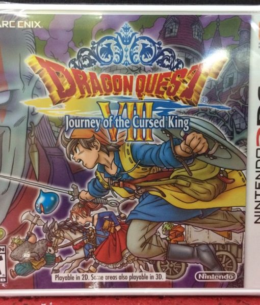 3DS Dragon Quest VIII Journey of Cursed King game