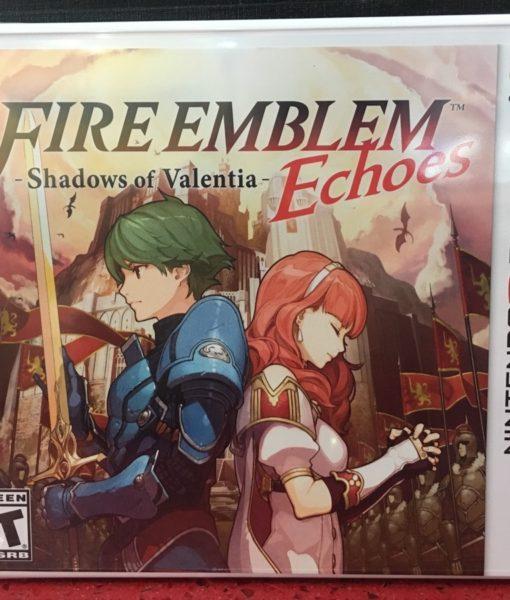 3DS Fire Emblem Valentia Echoes game