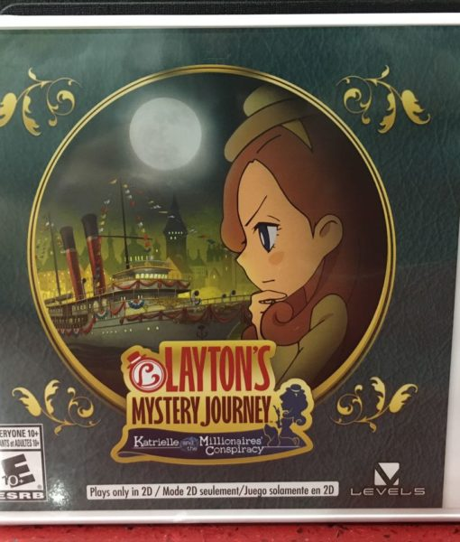 3DS Laytons Mystery Katrielle and Millionaires game