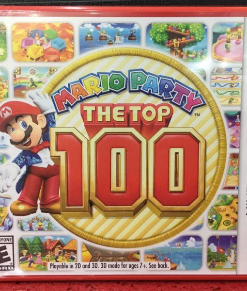 3DS Mario Party The Top 100 game