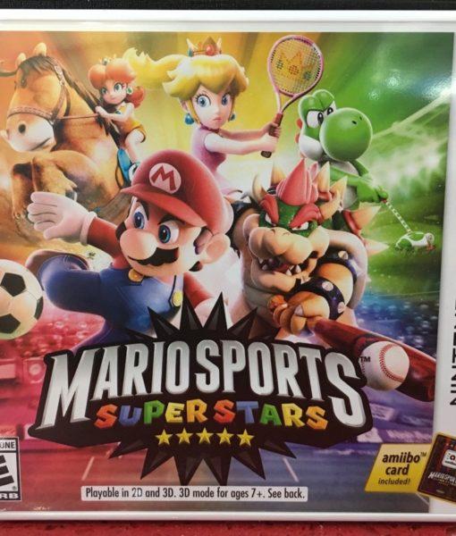 3DS Mario Sports SuperStars game