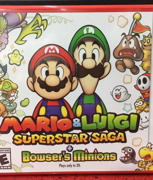 3DS Mario and Luigi SuperSaga Bowser Minions game