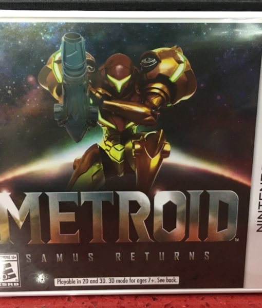 3DS Metroid Samus Returns game