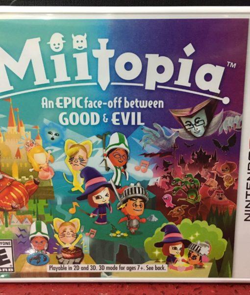 3DS Miitopia Good and Evil game