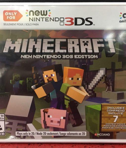 3DS MineCraft game