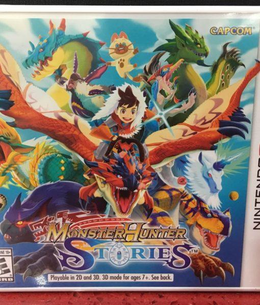 3DS Monster Hunter Stories game