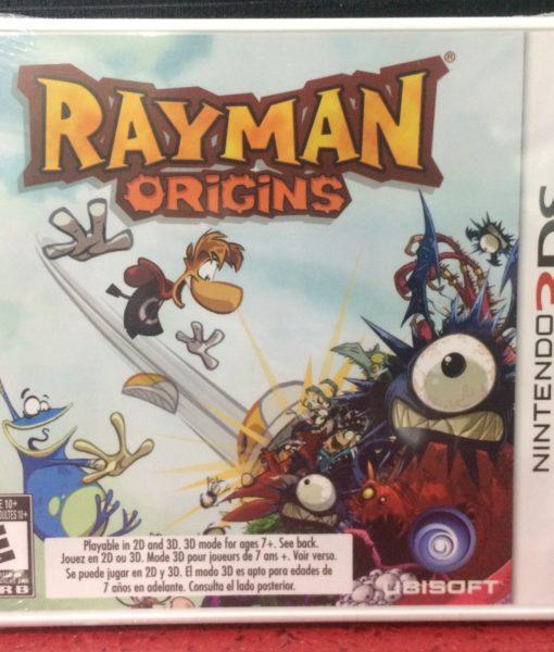 3DS Rayman Origins game