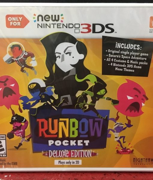 3DS Runbow Pocket Deluxe game