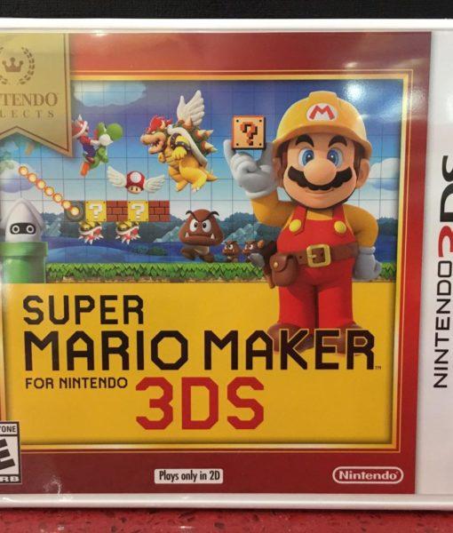 3DS Super Mario Maker game