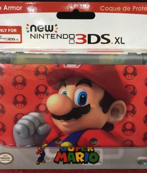 3DS XL New item Clip Armor Protector MARIO RED PdP