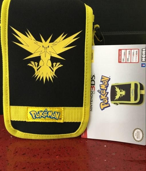3DS XL New item Travel Pouch Pokemon Amarrillo HORI