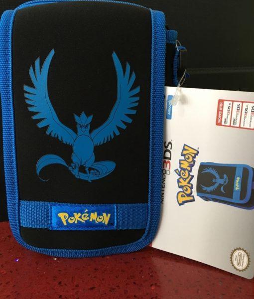 3DS XL New item Travel Pouch Pokemon Azul HORI