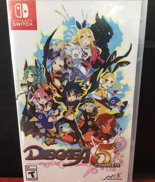 NSW Disgaea 5 Complete game