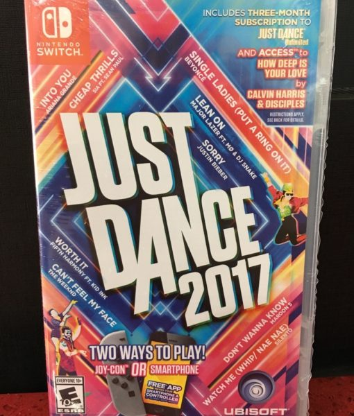 NSW Just Dance 2017 game