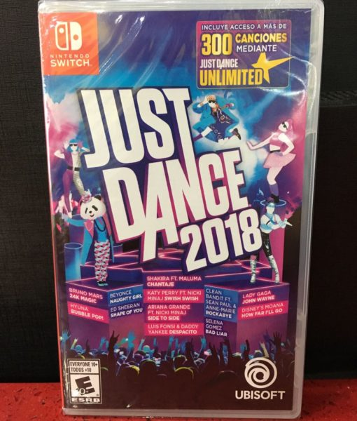 NSW Just Dance 2018 game