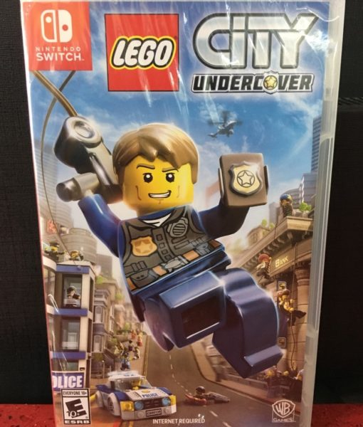 NSW Lego City Undercover game