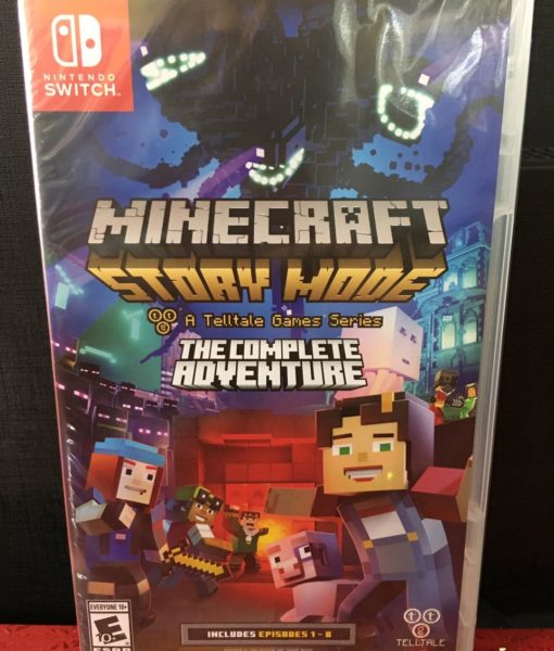 NSW Minecraft Story Mode Complete Adventure game