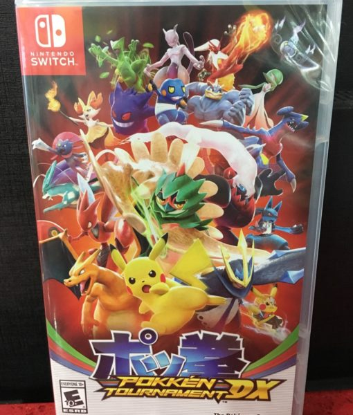 NSW Pokken Tournament DX game
