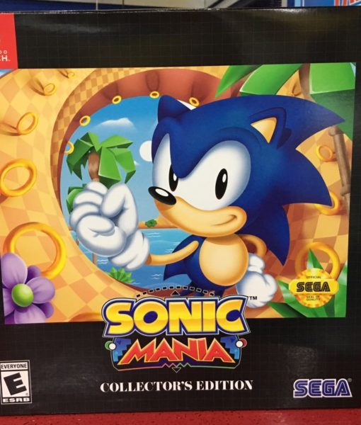 NSW Sonic Mania Collectors Edition game