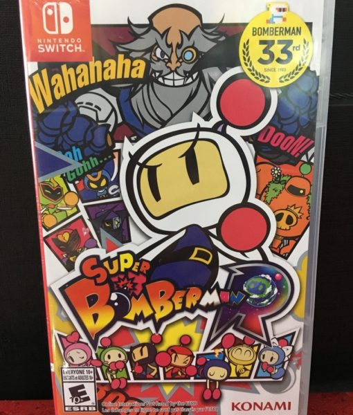 NSW Super Bomberman game