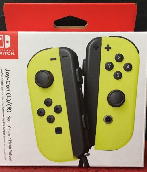 NSW item JoyCon L R Neon Yellow Nintendo