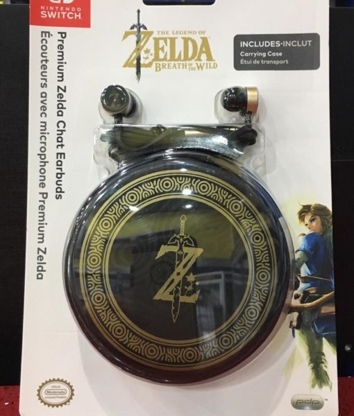 NSW item Premium Chat EarBuds Headset Zelda PDP