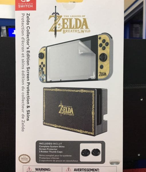 NSW item Screen Protection Zelda Skins PDP
