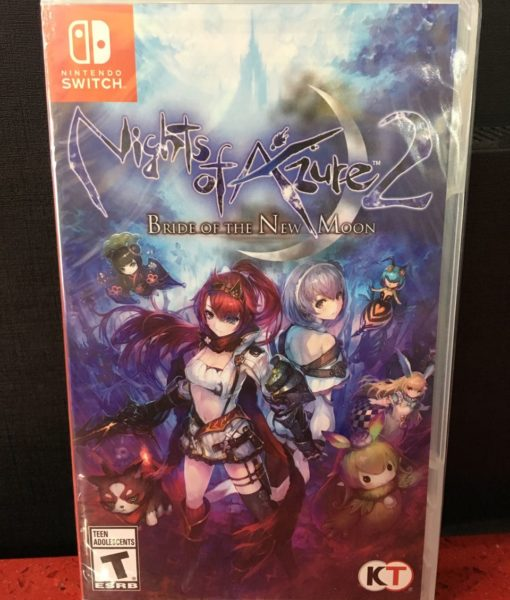 NSw Nights of Azure 2 Bride of the New Moon game