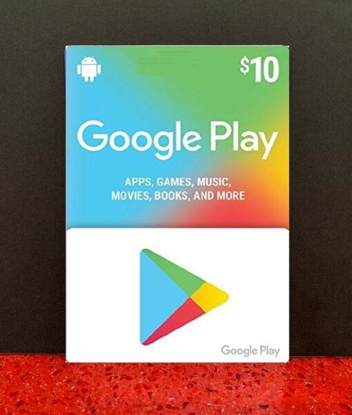PC item Google Play 10 dolar card