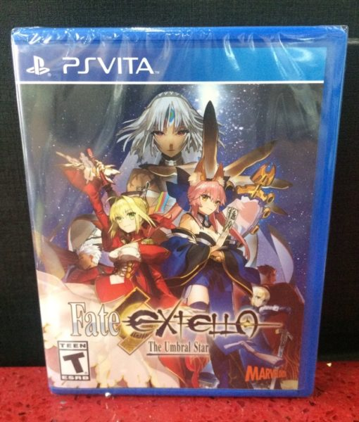 PS Vita Fate Extello The Umbral Star game