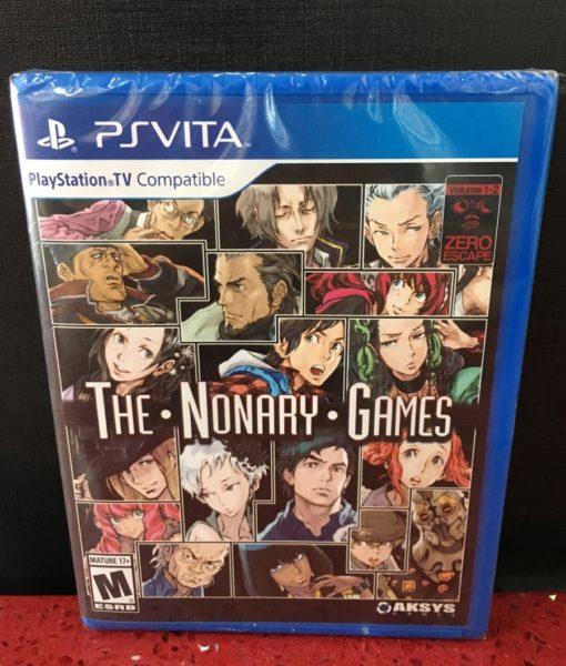 PS Vita The Nonary Games ZERO Escape game