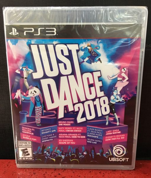 PS3 Just Dance 2018 game
