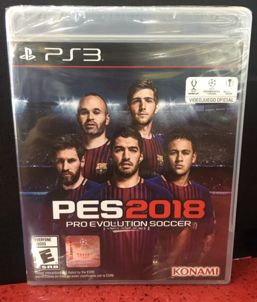 PS3 PES 2018 game