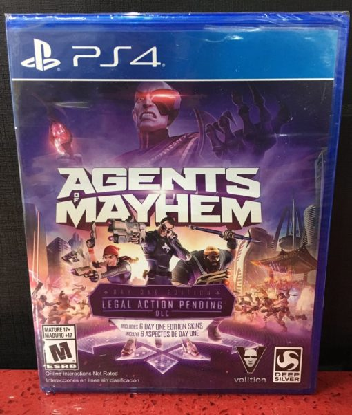 PS4 Agents of Mayhem game