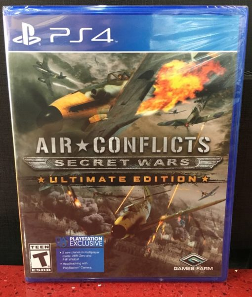 PS4 Air Conflicts Secret Wars game